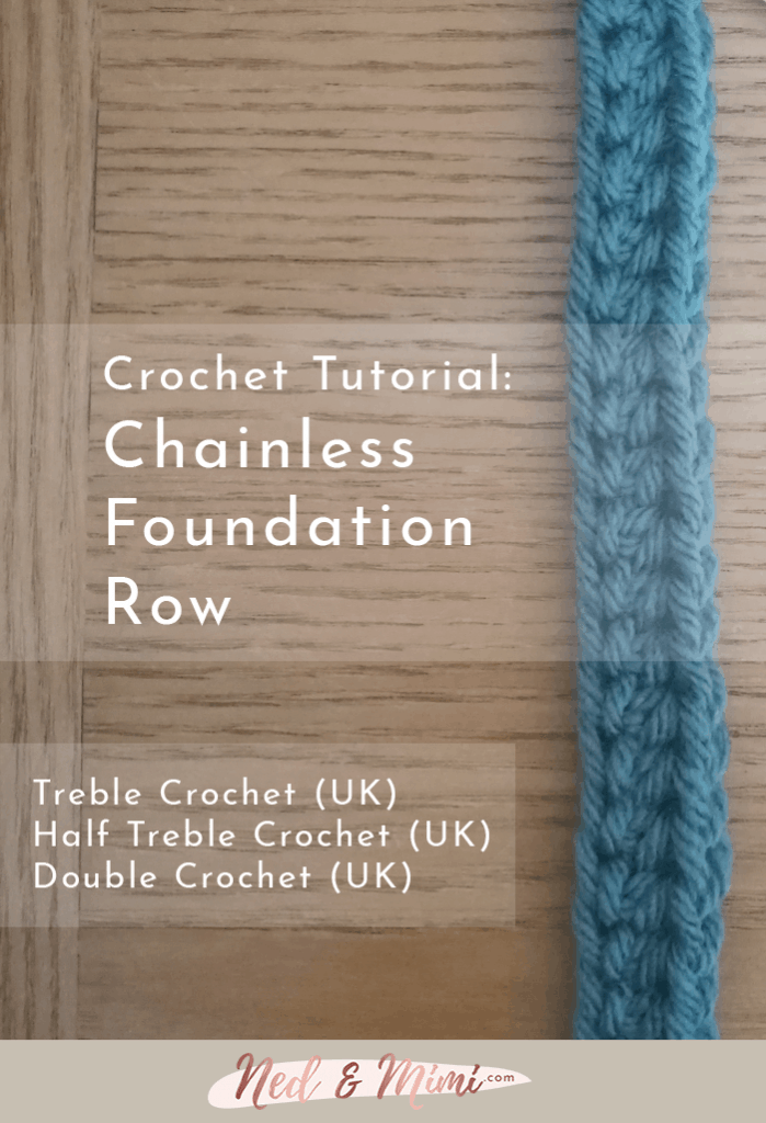 chainless foundation crochet row uk