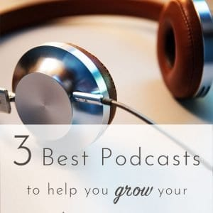 best podcasts to help you grow your crochet or knitting business