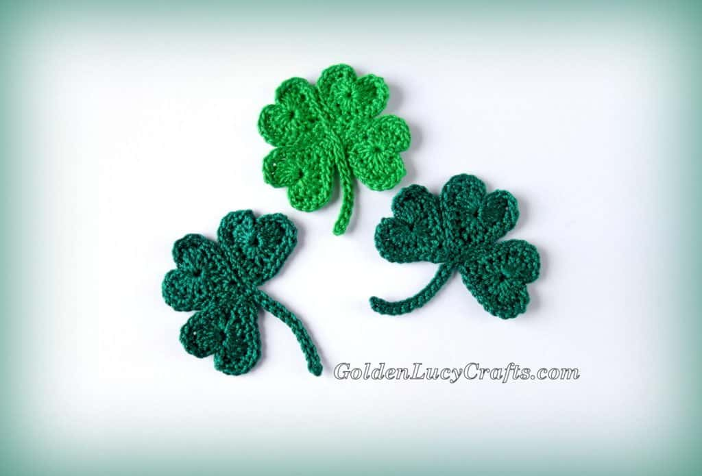 Golden Lucy Crafts - Shamrock & Clover