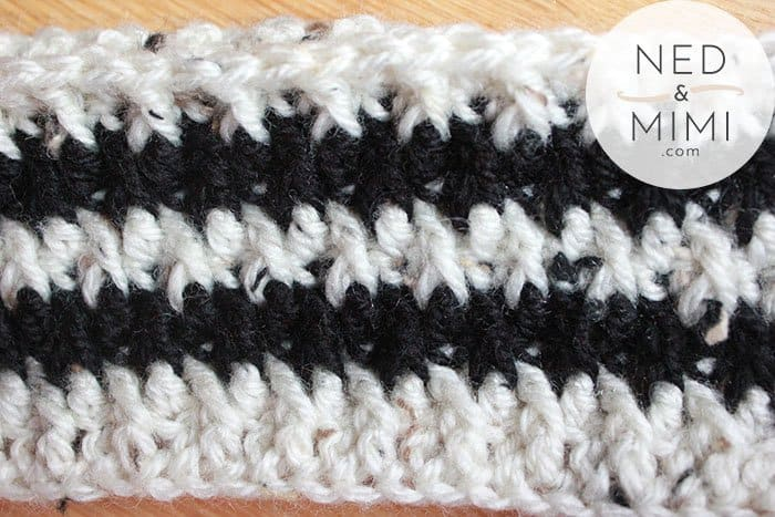 crochet alpine stitch