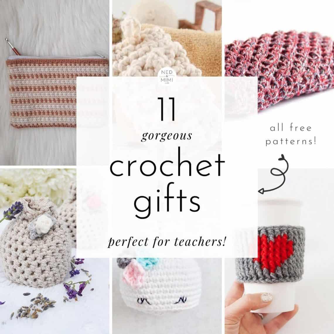 Crochet Gifts for Teachers