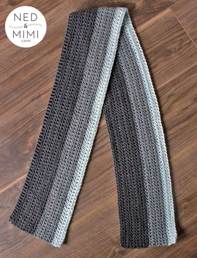Crochet Scarf by Ned & Mimi