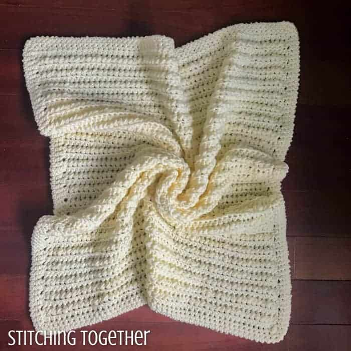 Squishy & Chunky Baby Blanket by Jessica @ Stitching Together