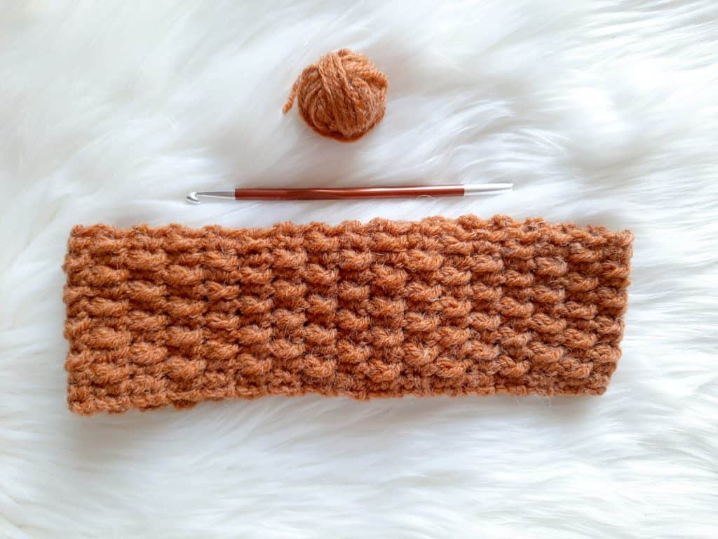 Crochet Headband (rust)