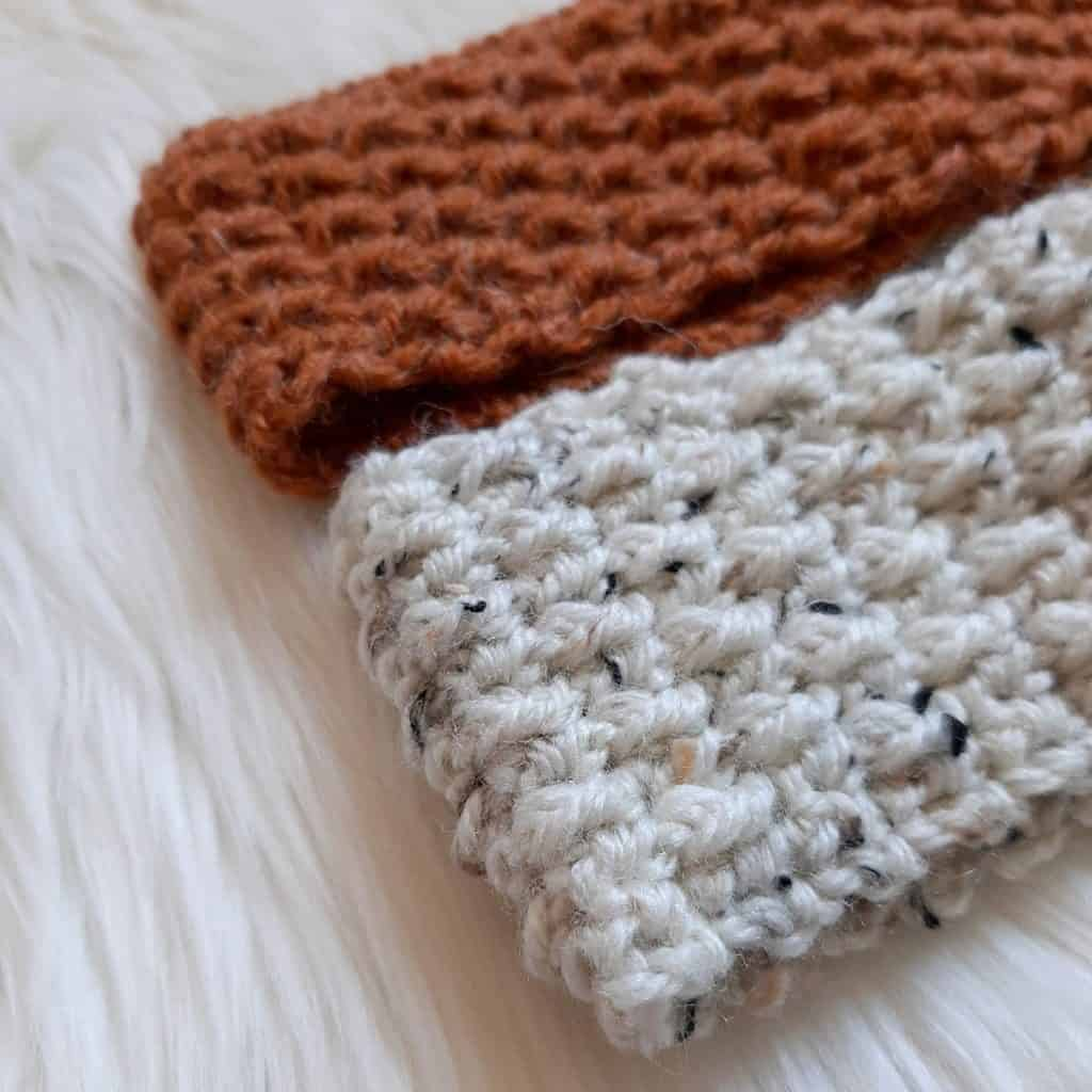 Crochet Headbands close up