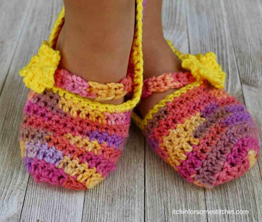 Slippers by Itchin' for some Stitchin'