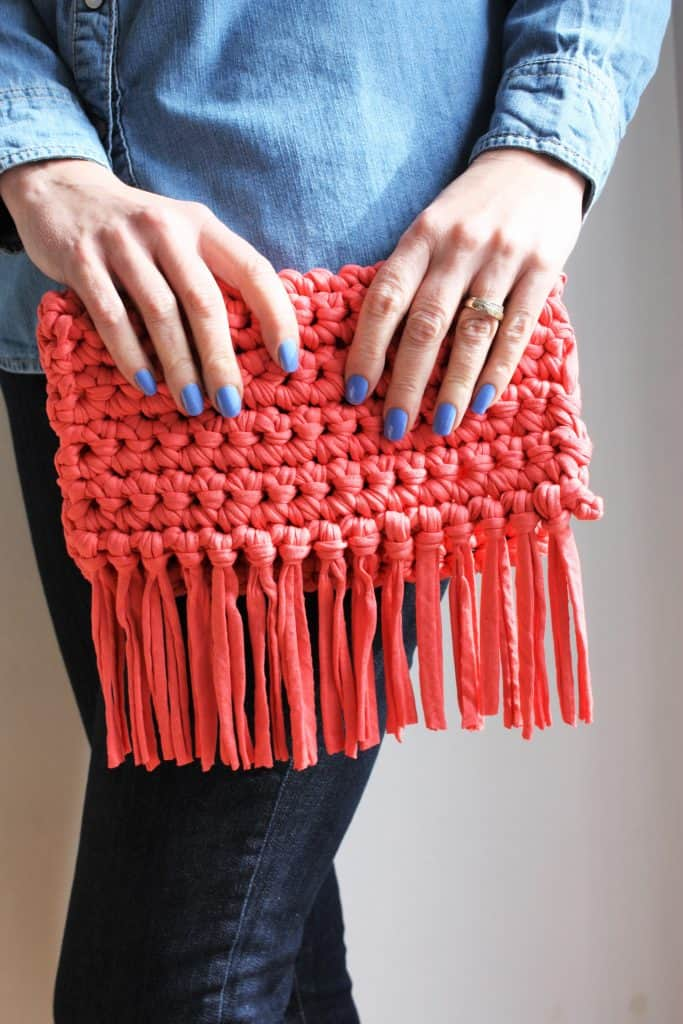 Easy Crochet Boho Purse by King & Eye