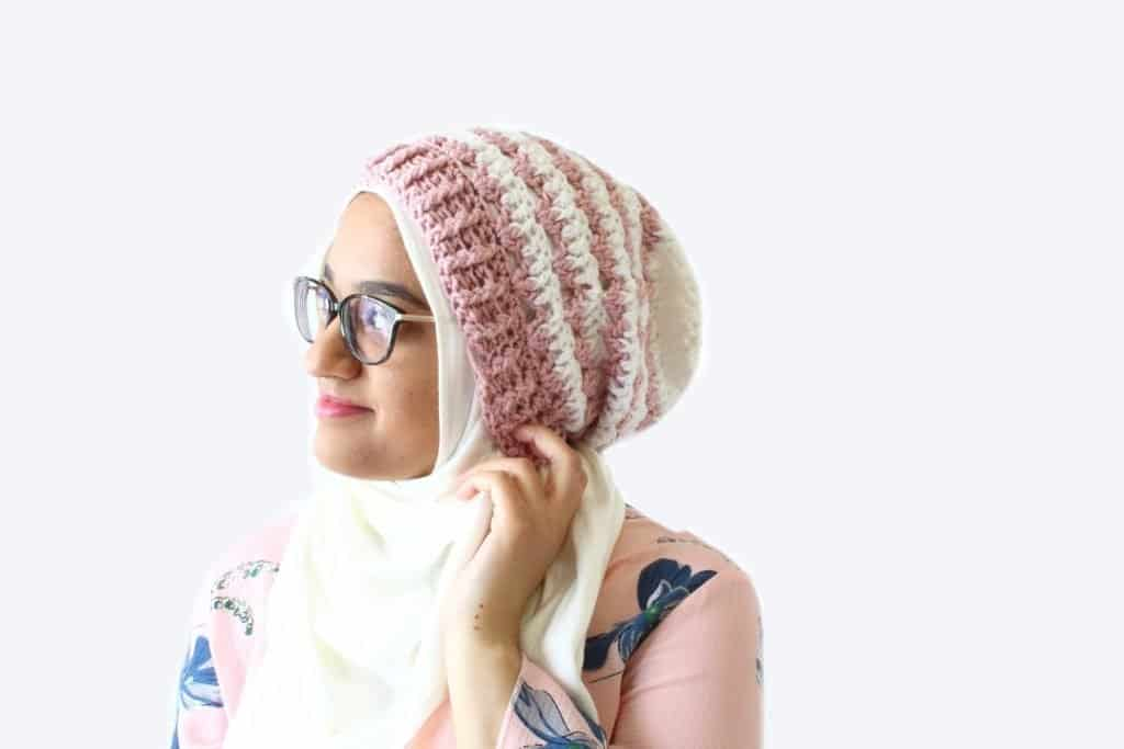 Rosebud Beanie by The Blue Elephants