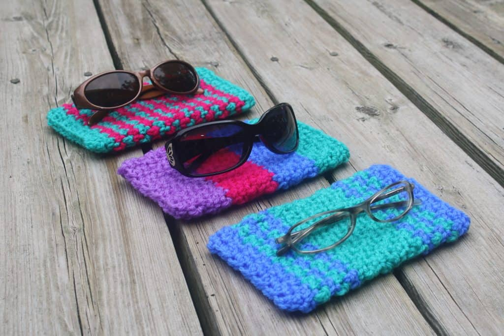 Sunglasses Case by Pine Tree Crochet
