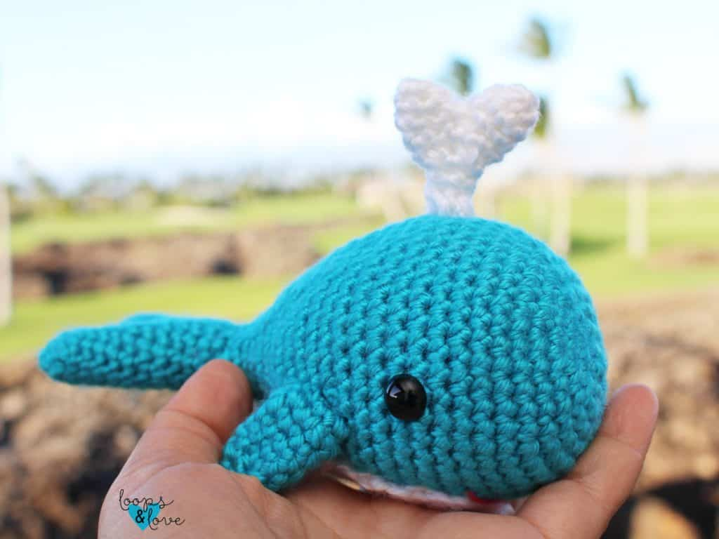 Whale Amigurumi by Loops & Love Crochet