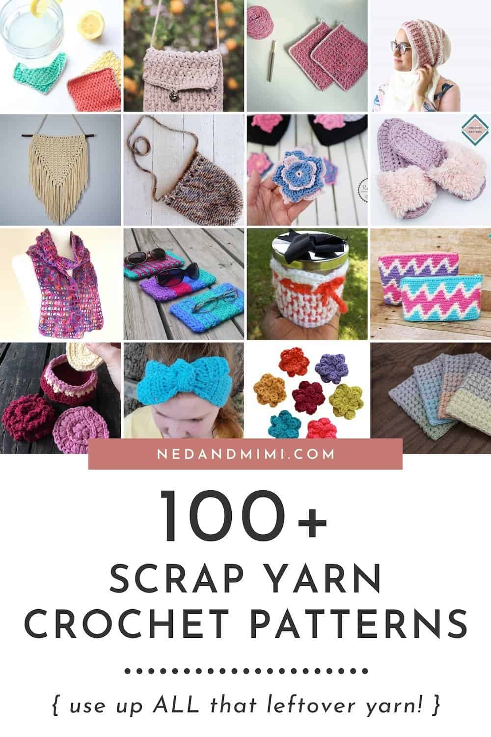 Crochet Patterns for Scrap Yarn