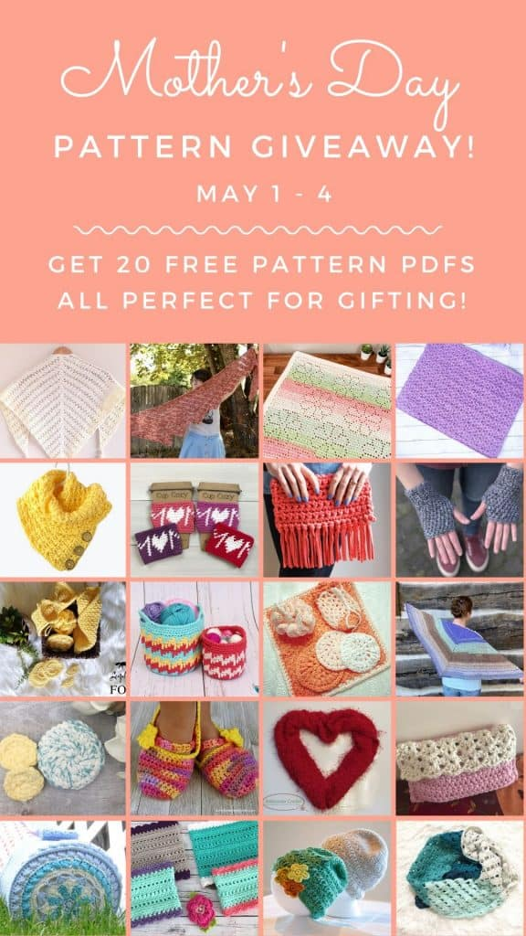 Mothers Day Crochet Pattern Giveway (collage)