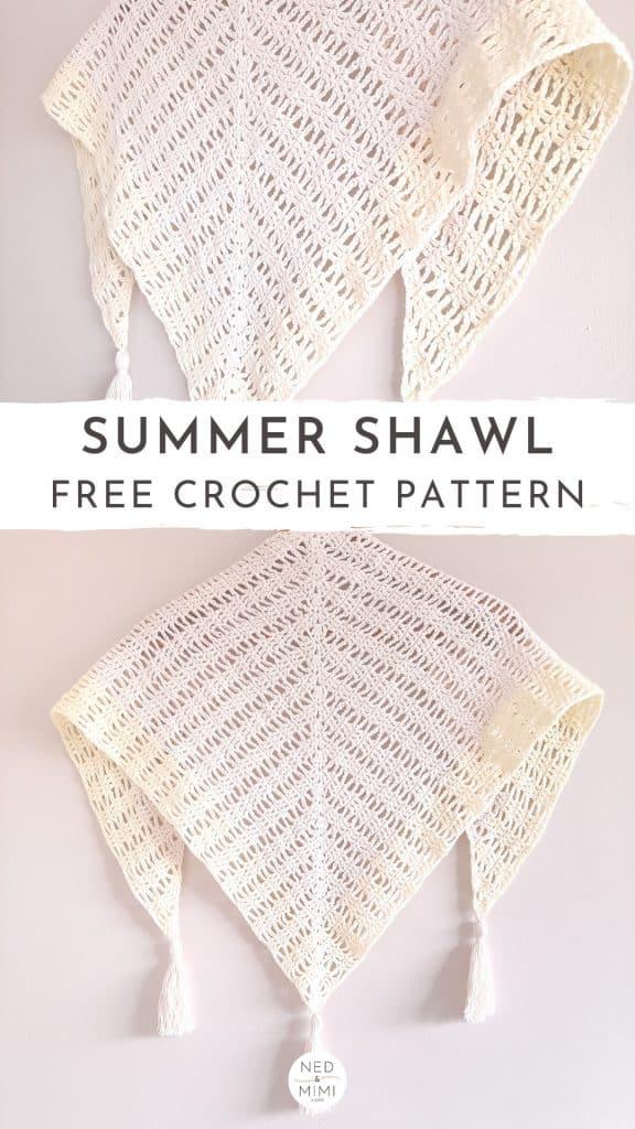 Crochet Shawlette (hanging)