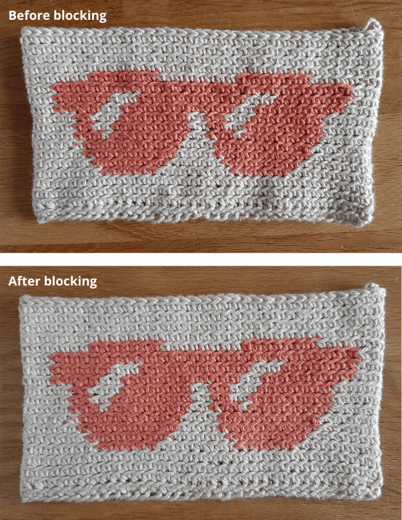 Sunglasses Case - Blocking Before & After