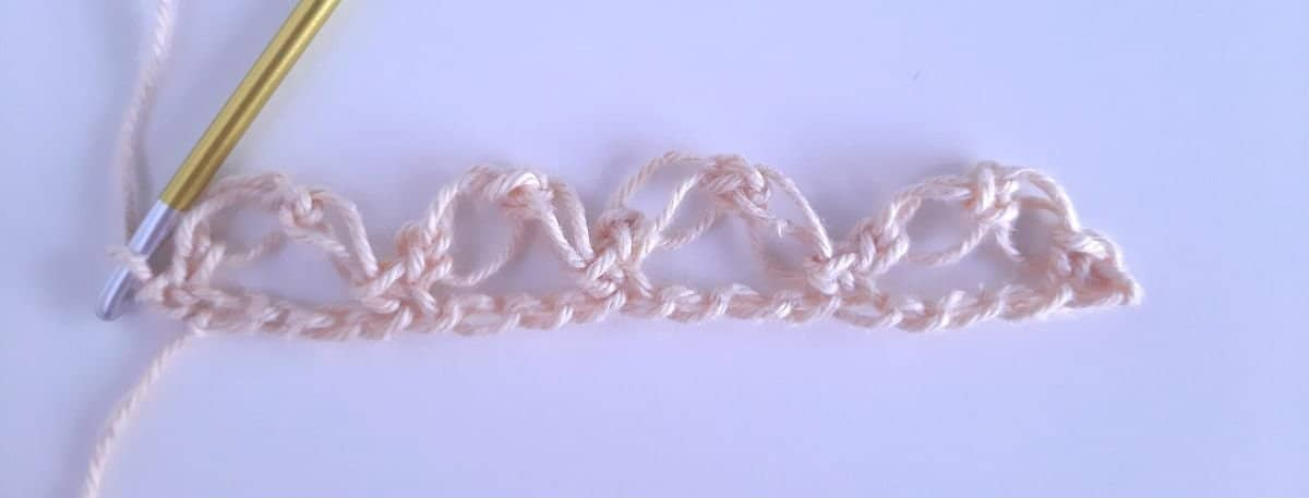 Solomon's knot step 5