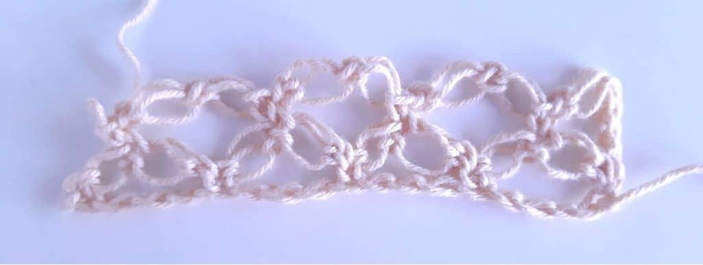Solomon's knot step 7