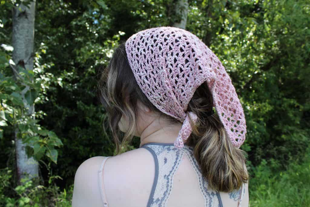 Garden Kerchief by No Hooks Given