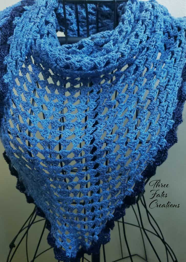 Summer Nights Shawl by Three Fates Creations