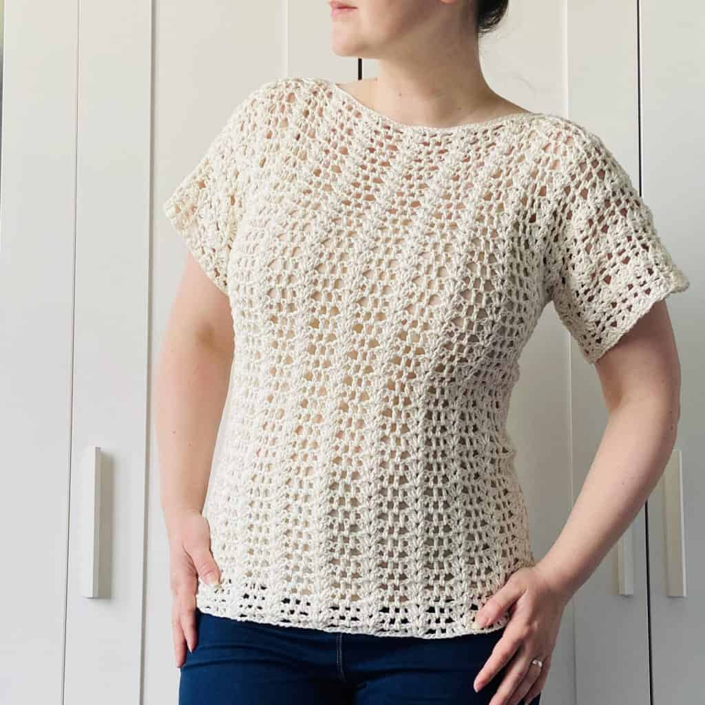 Summer Romance Top by Blue Star Crochet