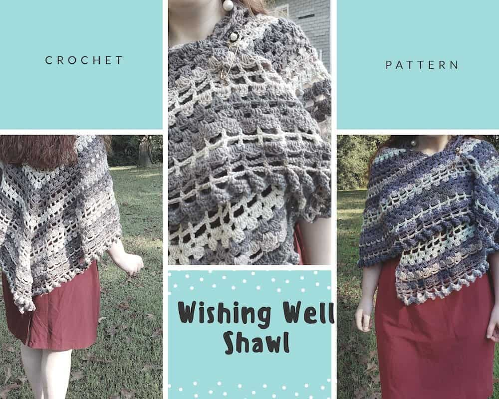 Wishing Well Shawl by Needle Klankers