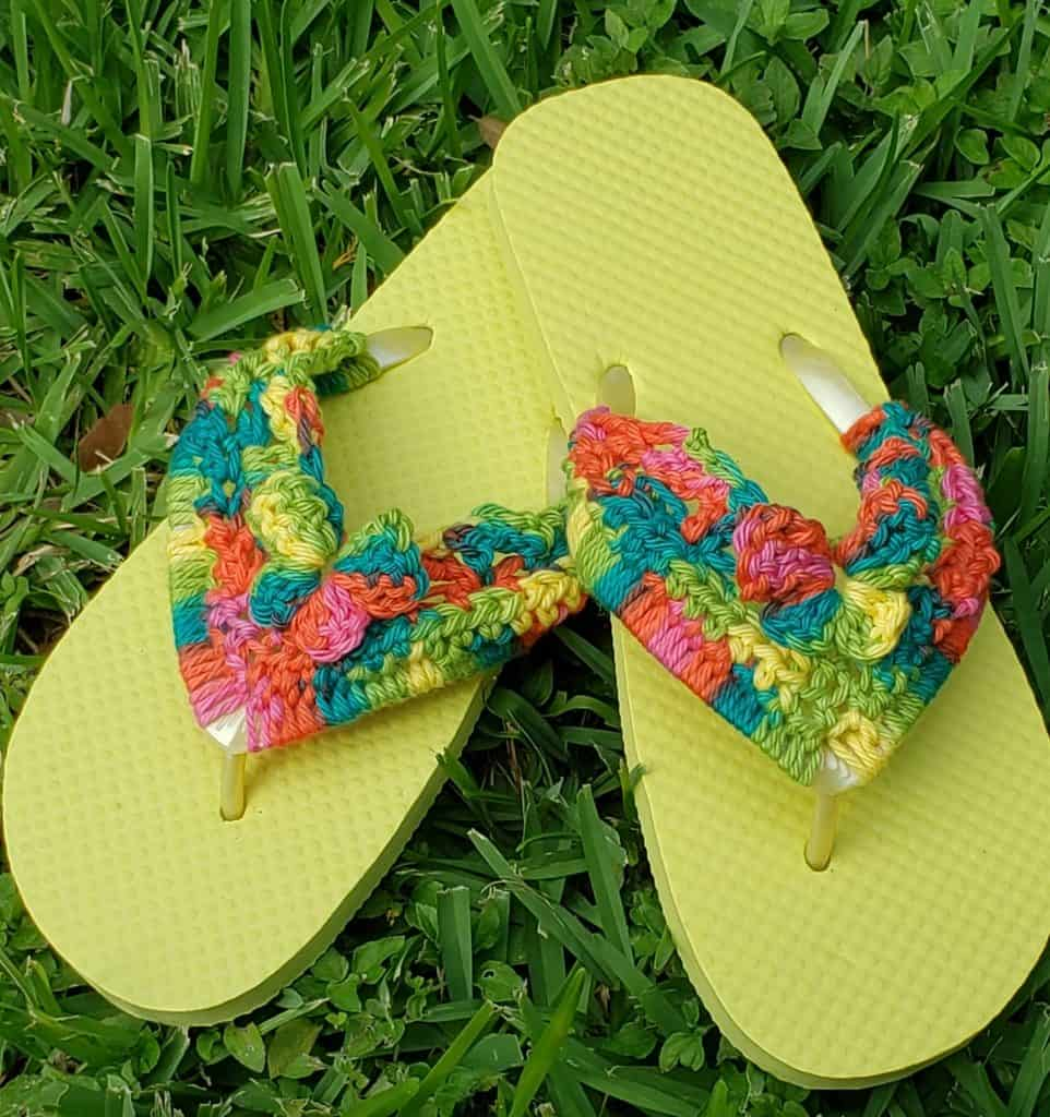 Butterfly Flip Flops by My Fingers Fly