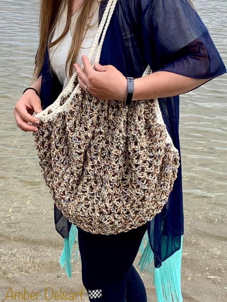 Crochet Market Bag @ambermarie4409