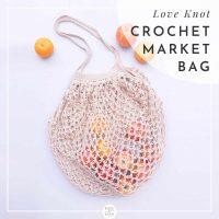 Crochet Market Bag (fruit)