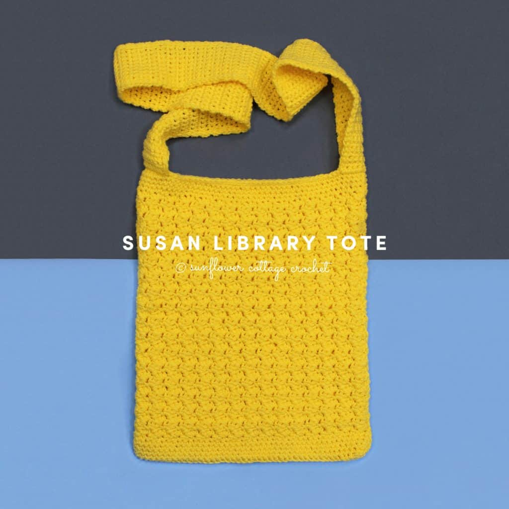 Susan Tote Bag from Sunflower Cottage Crochet