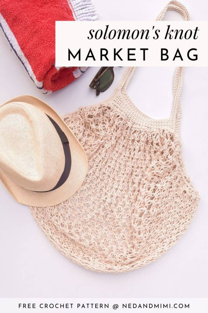 Crochet Market Bag (beach)