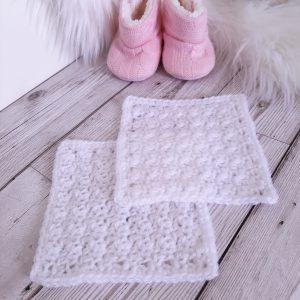 Crochet Bonding Squares (pair)