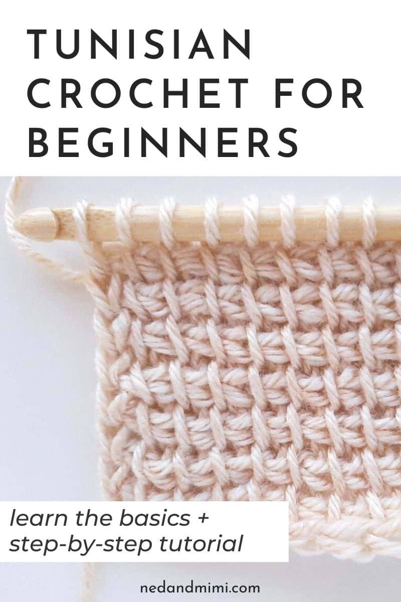 How to Tunisian crochet