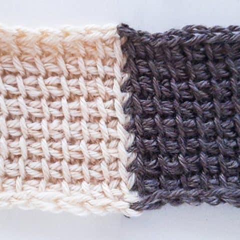 How to join Tunisian crochet