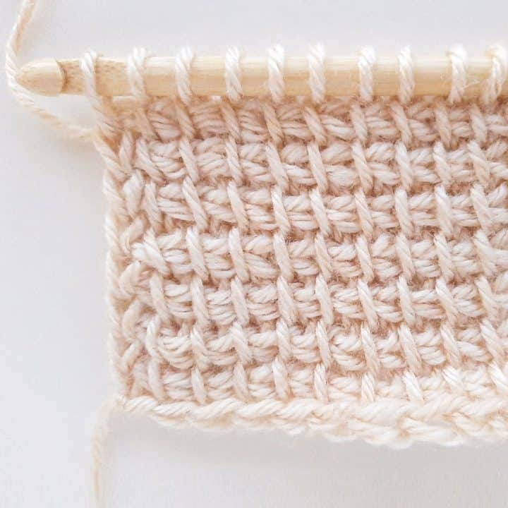 How to Tunisian Crochet - Tunisian Simple Stitch
