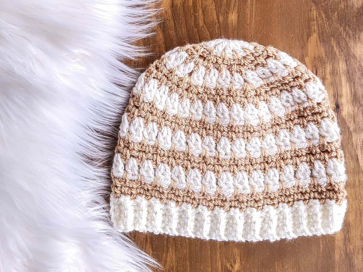 Easy Top-Down Crochet Pattern (striped)
