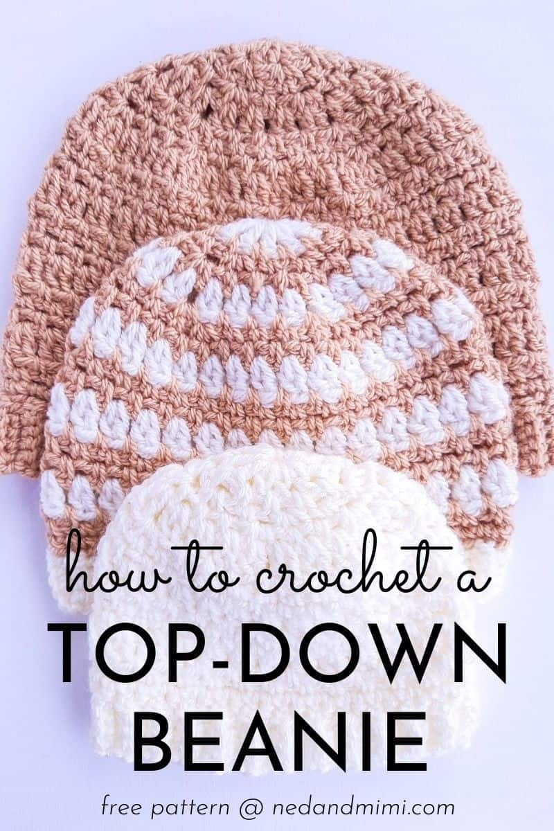 Easy Top-Down Crochet Pattern - Ned & Mimi