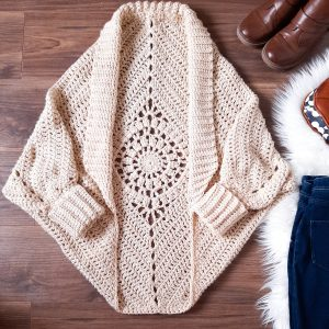 Dream Catcher Cardi - Crochet Shrug Pattern / Ned & Mimi