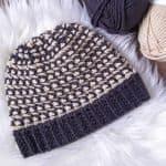 Trinity Stitch Crochet Hat / Ned & Mimi