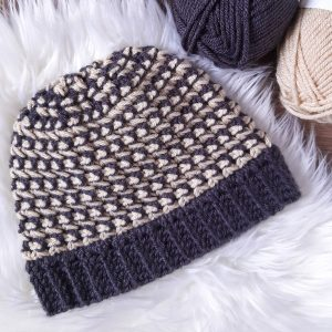 Trinity Stitch Crochet Hat / Ned & Mimi