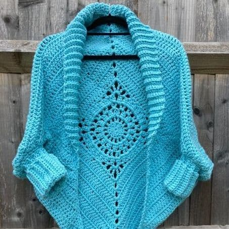 Dream Catcher Cardi - Free Crochet Shrug Pattern | Ned & Mimi
