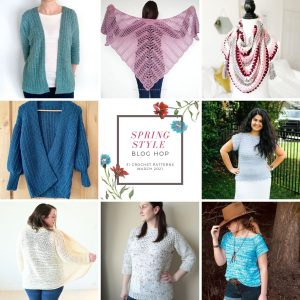 Spring Style Blog Hop - 31 Free Crochet Patterns