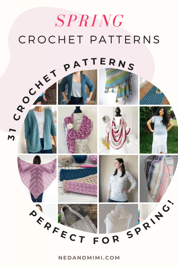 31 Spring Crochet Patterns
