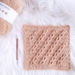 Lasting Links Crochet Blanket Square