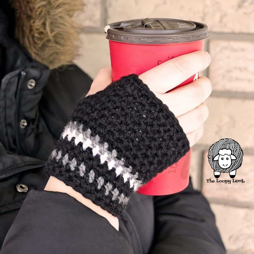 Mommy's Go-To Fingerless Gloves by Ashley @ The Loopy Lamb