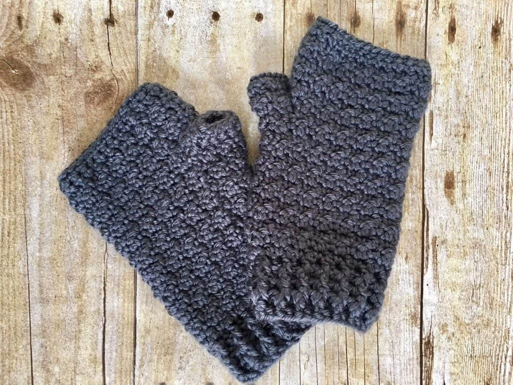 Lemon Peel Fingerless Gloves by Courtney @ Creations by Courtney