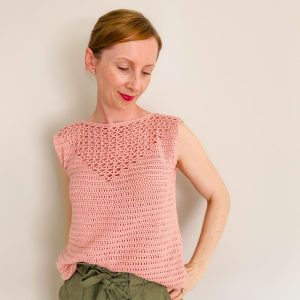 Flamingo Tank - Crochet Summer Top - Free Pattern
