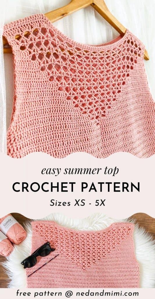Crochet Summer Top - Free Pattern