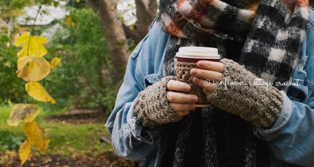Susan Wrist Warmers by Helen @ Sunflower Cottage Crochet