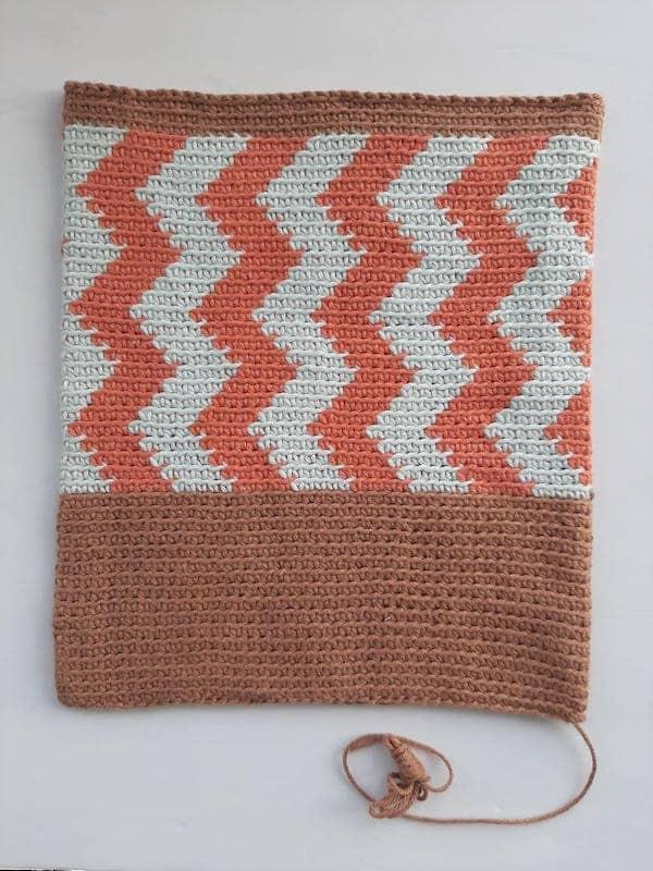 Chevron Crochet Clutch Pattern